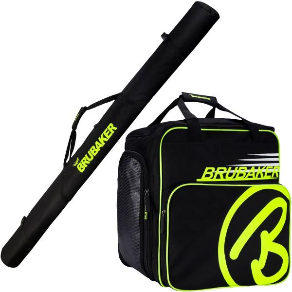 Kombi Set XC Touring Champion - Langlauf Skitasche und Skischuhtasche für 1 Paar Ski + Stöcke + Schu