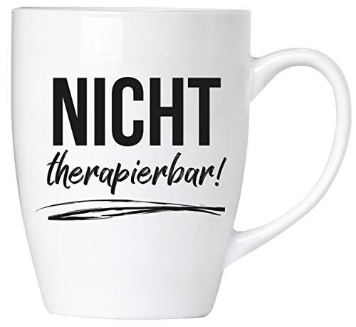 BRUBAKER - Nicht therapierbar! - Tasse aus Keramik