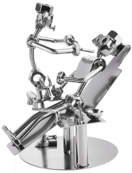 Schraubenmännchen Zahnarzt - Metallfigur Handarbeit - Eisenfigur Metallmännchen