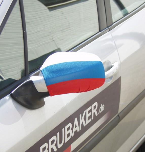 BRUBAKER Spiegelflagge Außenspiegelflagge Russland im 2er Set