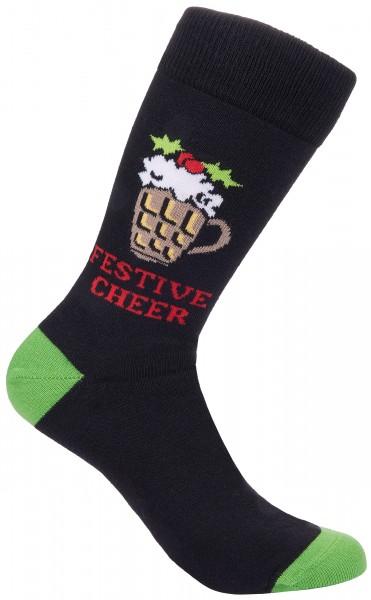 BRUBAKER Weihnachtssocken - Festive Cheer - One Size (40-45)