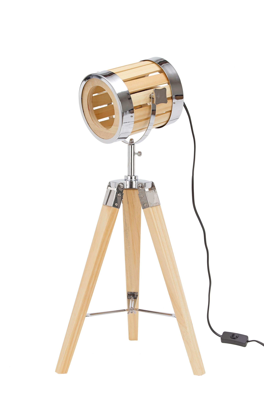 Stehlampe Aus Holz Stativbeine Aus Holz Industrial Design 65