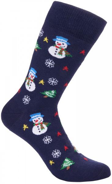 BRUBAKER Weihnachtssocken - Schneemänner - One Size (40-45)
