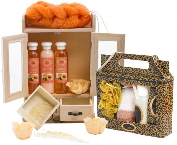 """BRUBAKER 15-teiliges Beauty Geschenkset """"Peach Vanilla"""""""