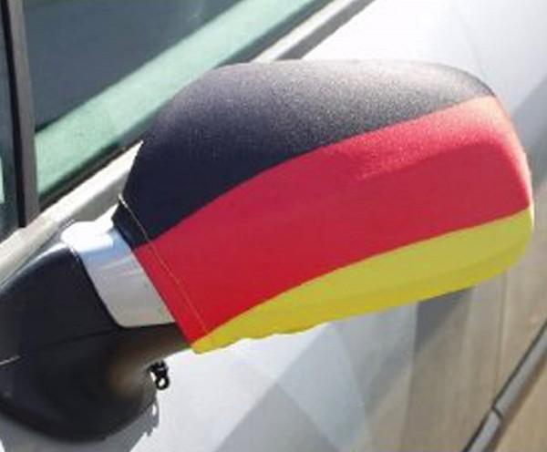 BRUBAKER 2er Set Außenspiegelflagge Deutschland Fan - Zeigen sie Flagge! Viele verschiedene PKWs
