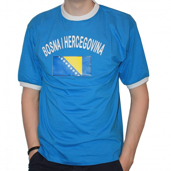 BRUBAKER Herren oder Damen Bosnien Herzegowina Fan T-Shirt