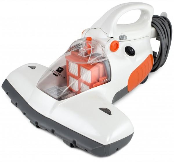 BRUBAKER Antibakterieller UV-Licht-Milbensauger Staubsauger 800 Watt inkl. Teleskopstange ideal für