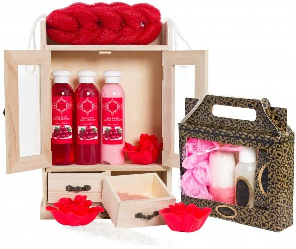 """BRUBAKER 15-teiliges Beauty Geschenkset """"Cranberry Vanilla"""""""