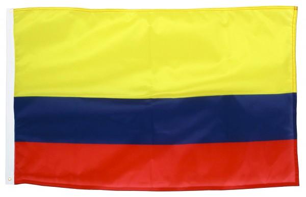 BRUBAKER Hissflagge Kolumbien Fahne Flagge 150 x 90 cm Banner mit Ösen zum Hissen