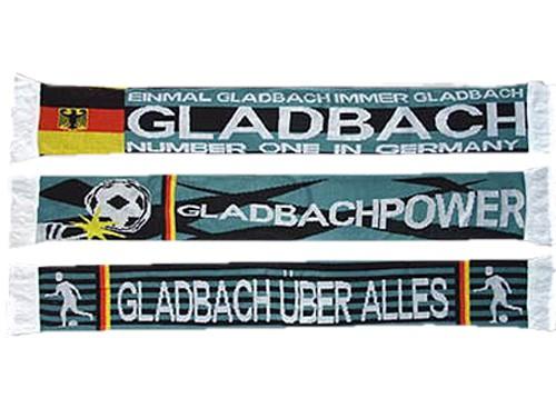 3er Pack Fanschal Gladbach verschiedene Motive