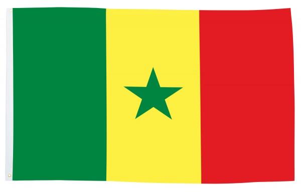 BRUBAKER Hissflagge Senegal Fahne Flagge 150 x 90 cm Banner mit Ösen zum Hissen