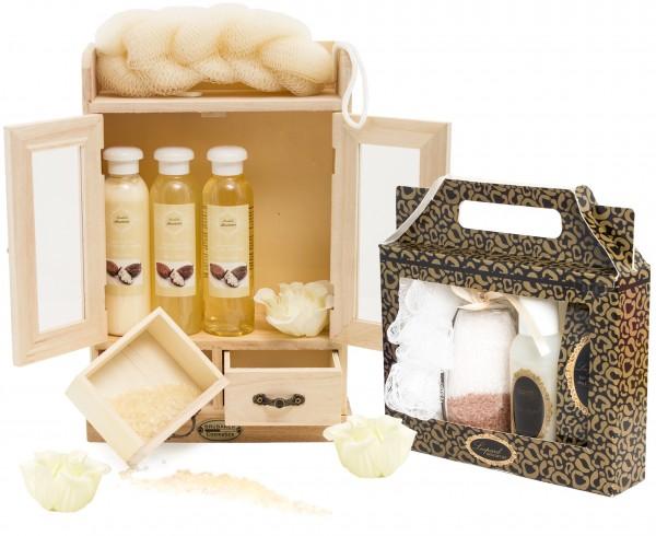 """BRUBAKER 15-teiliges Beauty Geschenkset """"Sheabutter Vanilla"""""""
