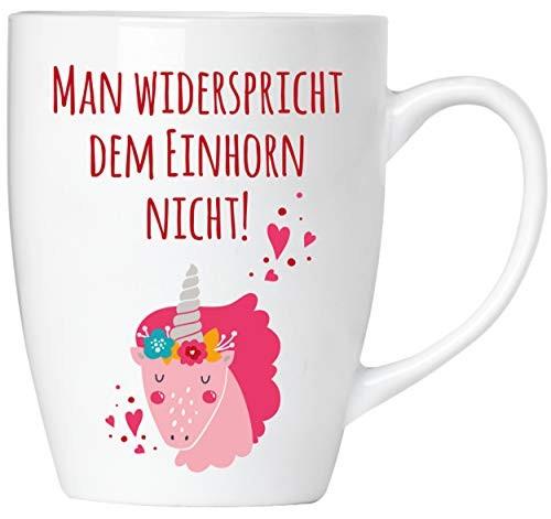 BRUBAKER - Man widerspricht dem Einhorn nicht! - Tasse aus Keramik