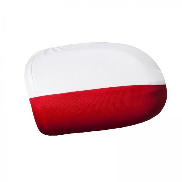 BRUBAKER Außenspiegelflagge Polen Spiegelflagge im 2er Set