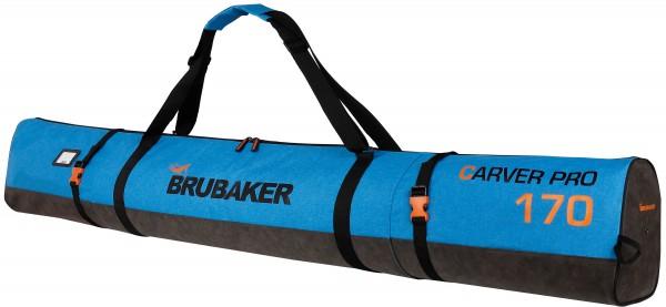 BRUBAKER Carver Performance Skisack für 1 Paar Ski und Stöcke