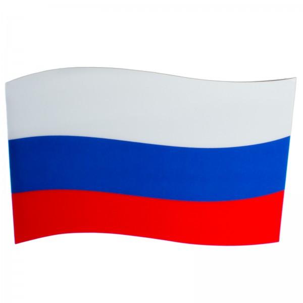 BRUBAKER Auto Magnetflagge Russland mit 3D-Effekt