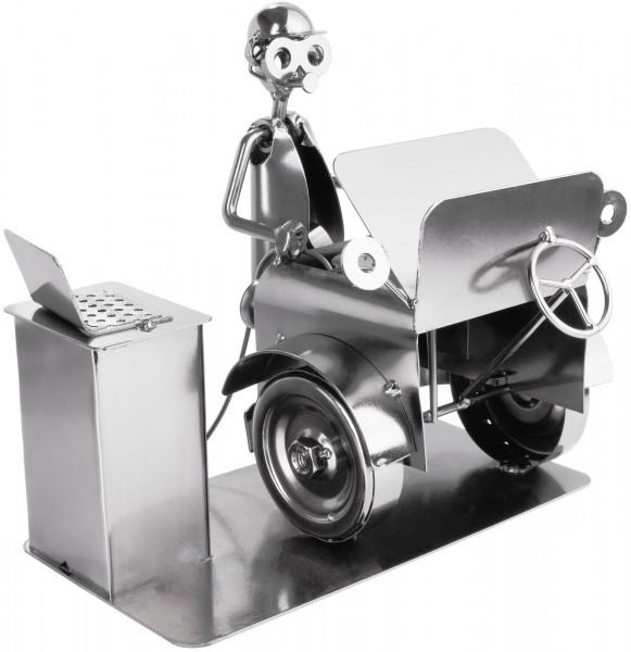 Schraubenmännchen Automechaniker - Metallfigur Handarbeit - Geschenkidee