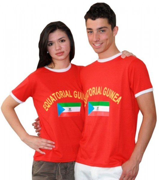 BRUBAKER Guinea Fan T-Shirt Rot
