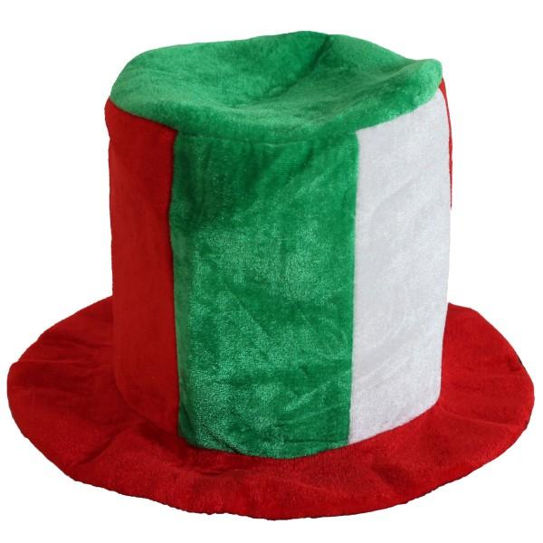 BRUBAKER Fan Hut Plüsch Zylinder Italien