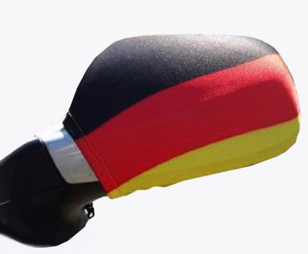 BRUBAKER Aussenspiegelflagge Deutschland Spiegelflagge im 2er Set (rechts/links)