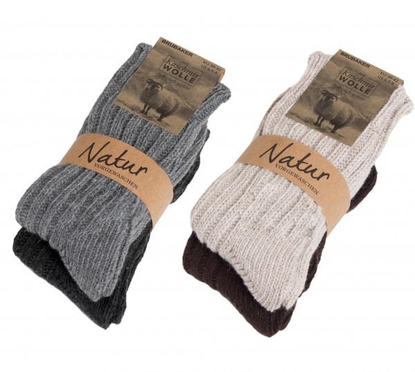 4 Paar dicke flauschige warme Kaschmir Socken