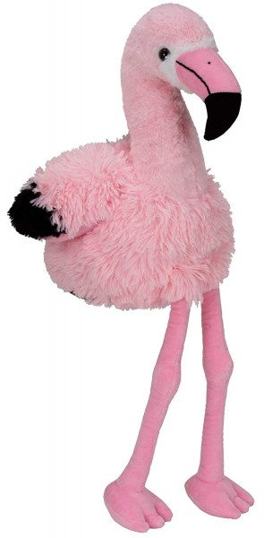 BRUBAKER Plüsch Flamingo Rosa mit Beinen 75 cm Kuscheltier Plüschtier Stofftier