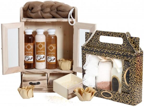 "15-teiliges BRUBAKER Beauty Geschenkset ""Kokosnuss & Vanilla"""