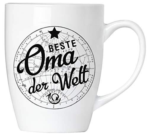 BRUBAKER - Beste Oma der Welt - Tasse aus Keramik