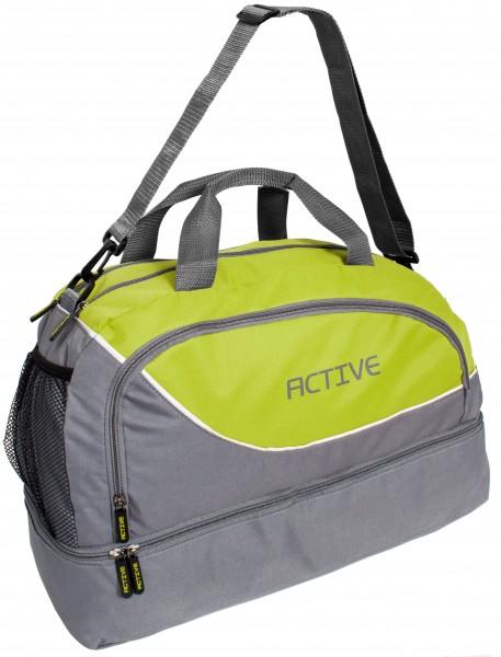 BRUBAKER Active Sporttasche 30 L mit einem Nassfach, Bodenfach und einem Fach für Handy und Ähnliche