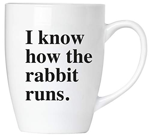 BRUBAKER - I know how the rabbit runs. - Tasse aus Keramik