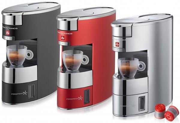 Illy X9 Iperespresso Kapselmaschine Espressomaschine 1200 W + 14 Espresso Kapseln