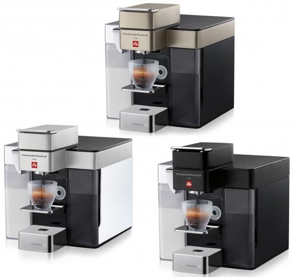 Illy Y5 Milk Iperespresso Kaffeeautomat + Milchaufschäumer 1250 W + 14 Espresso Kapseln