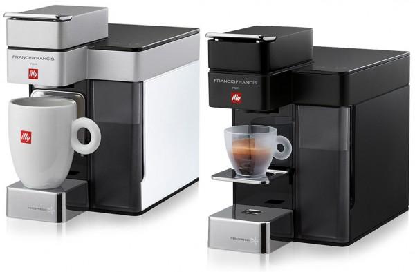 Illy Y5 Kaffee & Espresso Iperespresso Kaffeeautomat 1250 W + 14 Espresso Kapseln