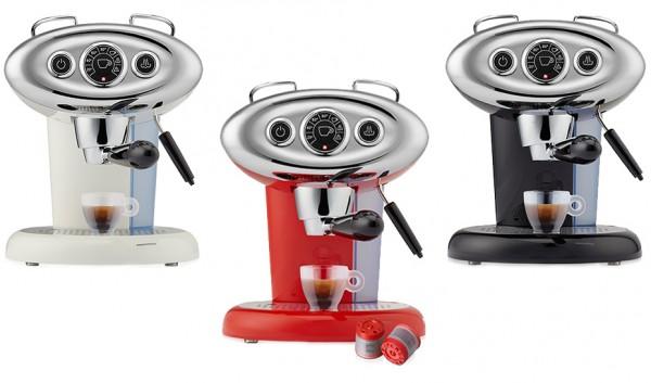 Illy X7.1 Espresso & Kaffee - Iperespresso Kaffeeautomat + Milchaufschäumer 1200 W + 14 Espresso Kap