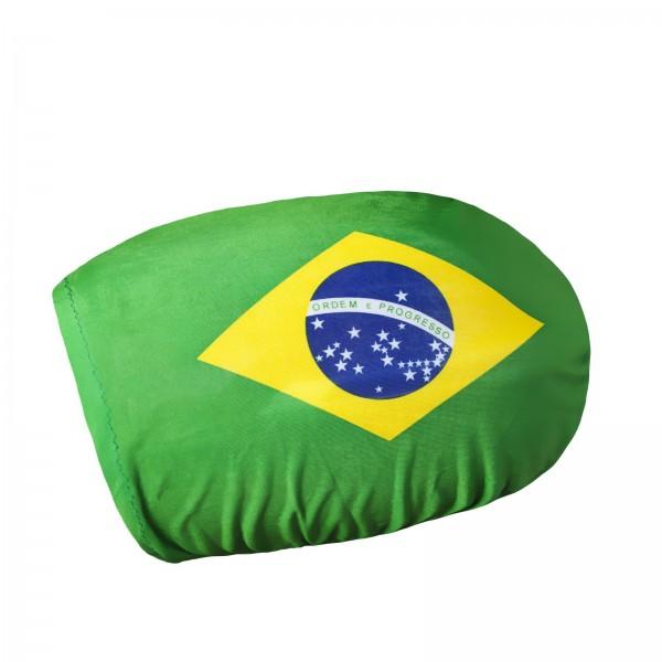 BRUBAKER Aussenspiegelflagge Brasilien Spiegelflagge im 2er Set (rechts/links) Außenspiegelflagge