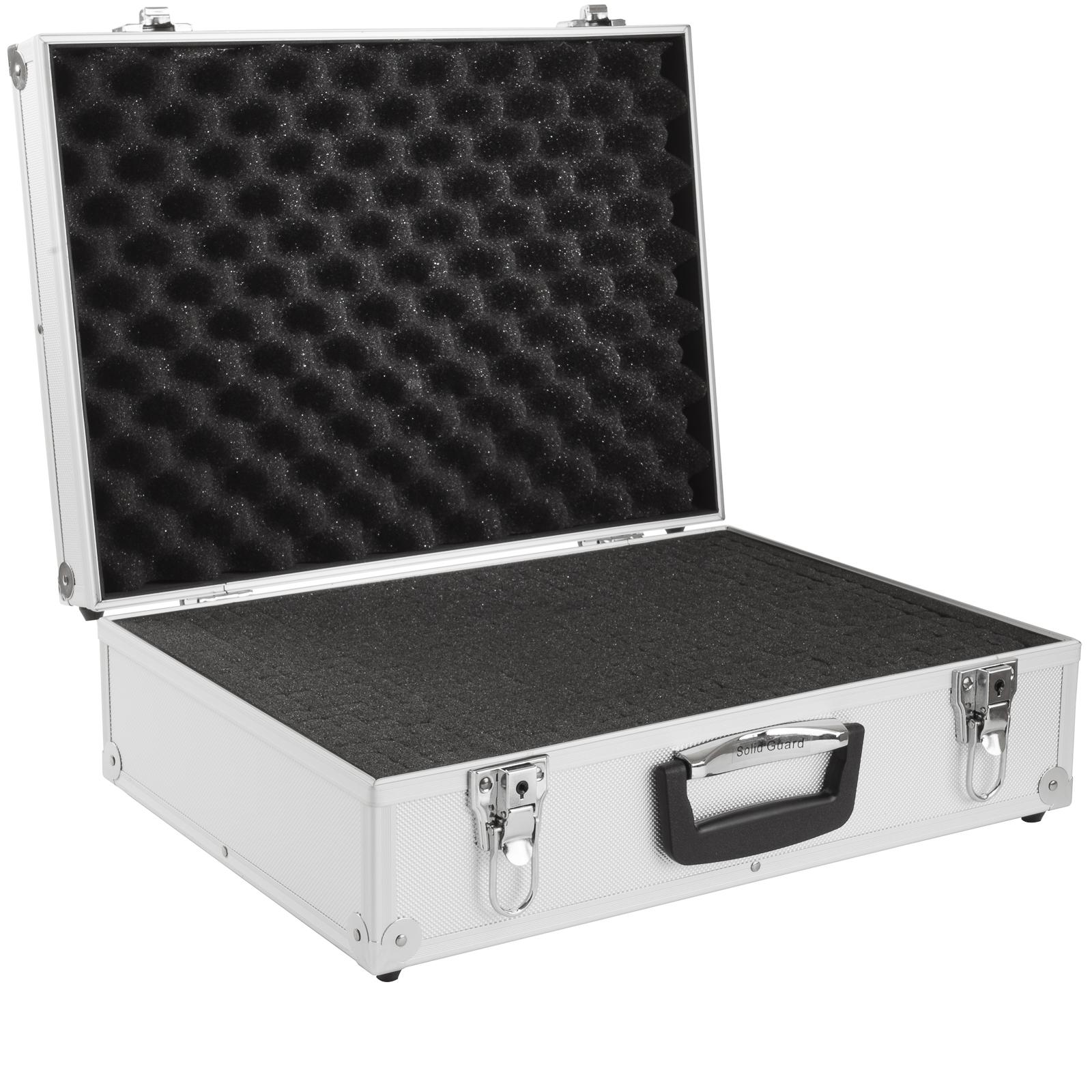 brubaker alukoffer fotokoffer mit schaumstoff 20 l fotokoffer taschen sport freizeit. Black Bedroom Furniture Sets. Home Design Ideas