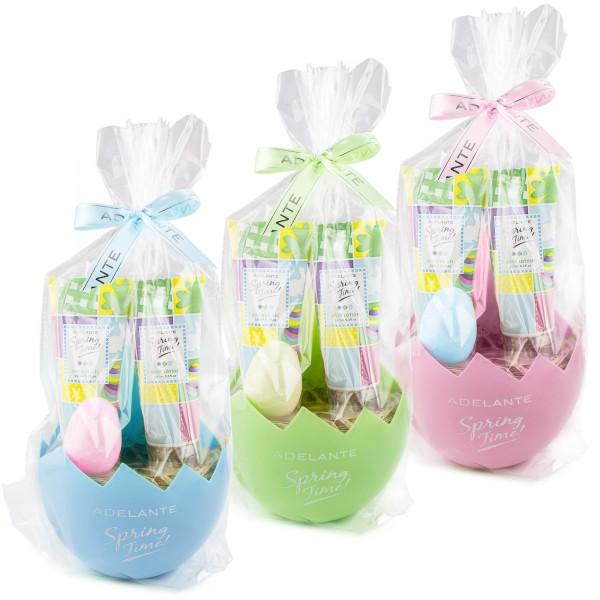 4 tlg. Bade- und Dusch Set - Beautyset - Ostergeschenk