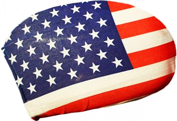 BRUBAKER Außenspiegelflagge USA Spiegelflagge im 2er Set