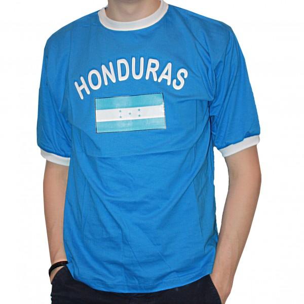 BRUBAKER Herren oder Damen Honduras Fan T-Shirt Blau