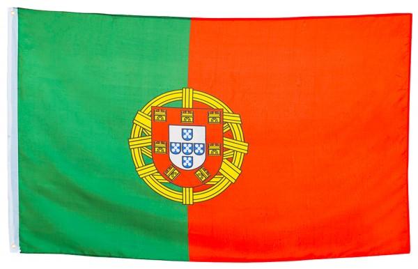 BRUBAKER Hissflagge Portugal Fahne Flagge 150 x 90 cm Banner mit Ösen zum Hissen