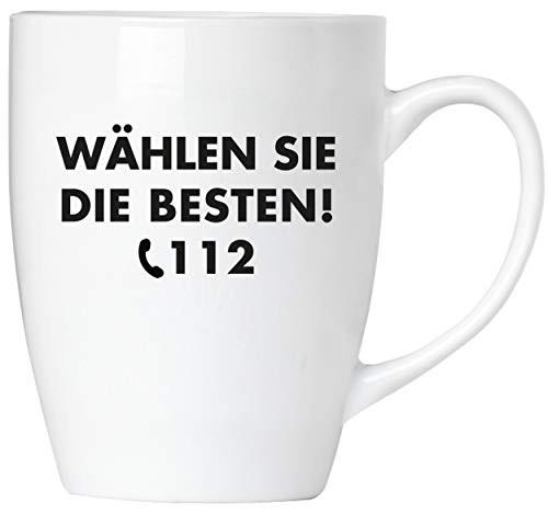 BRUBAKER - Wählen Sie die Besten! 112 Feuerwehr - Tasse aus Keramik