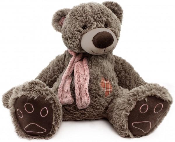 BRUBAKER Kuschelbär Teddybär 50 cm groß in braun