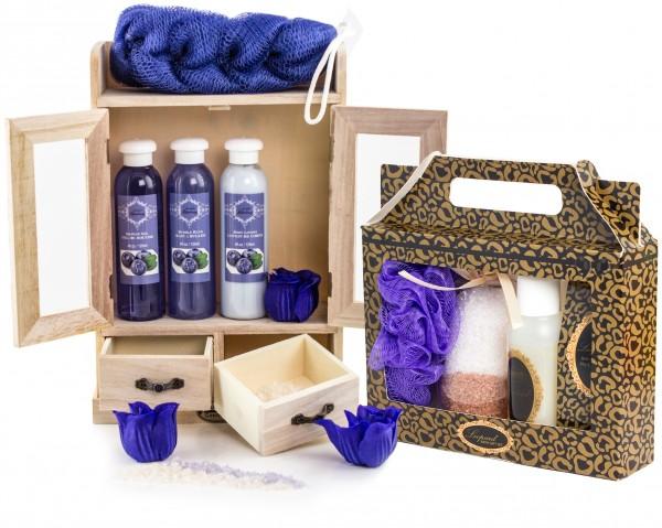 """BRUBAKER 15-teiliges Beauty Geschenkset """"Blueberry Vanilla"""""""