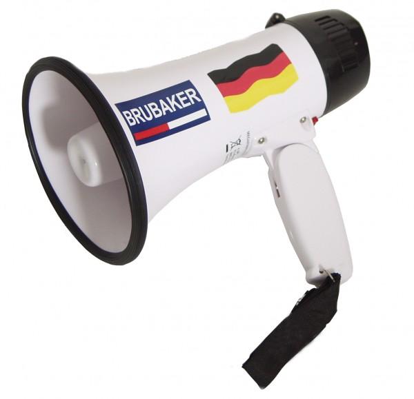 BRUBAKER Deutschland Megaphon - Funktionen: Sprechen und Sirene