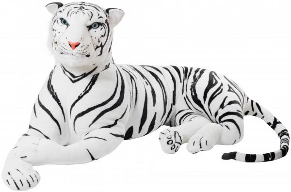 Riesiger Tiger - König des Dschungels - 150 cm - Weiß