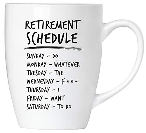 BRUBAKER - Retirement schedule - Tasse aus Keramik