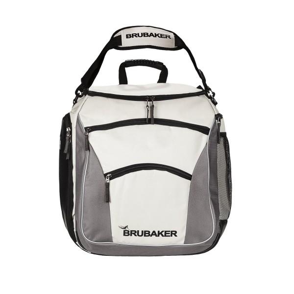 BRUBAKER Skischuhtasche PROFESSIONAL für Schuhe und Helm mit Rucksack-Tragegurten und Schaum-Rückenp