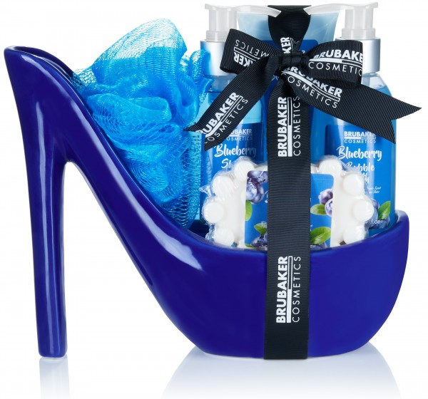BRUBAKER Cosmetics Luxus Beautyset - Bade-, Dusch-, und Geschenkset in Keramik Stiletto - 6-teilig