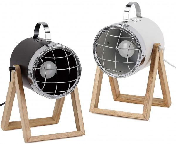 Tischlampe, Bodenlampe - Industrial Design - verstellbar - bis zu 42 cm hoch