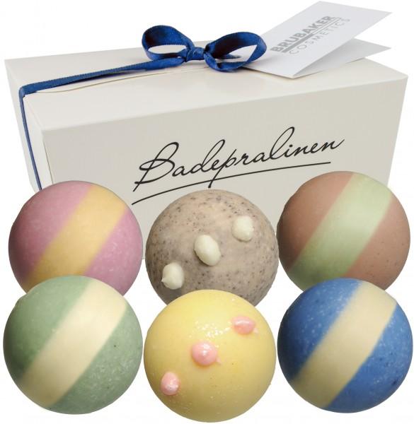 "6er Set BRUBAKER Cosmetics Badepralinen ""Endless Universe"" handgemacht und vegan"